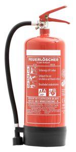 Feuerlöscher 6L Schaum BIO-DIN EN3 für Gewerbe geeignet + ANDRIS platz 3