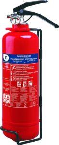 Smartwares Feuerlöscher 2 Kg, Pulverlöscher mit Halterung und Manometer - platz 4